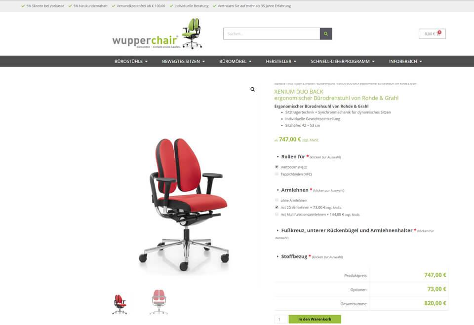 WooCommerce für Produkte mit Varianten